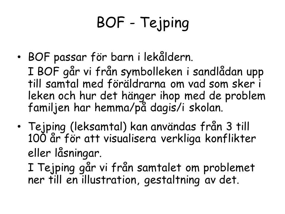BOF - Tejping BOF passar för barn i lekåldern.