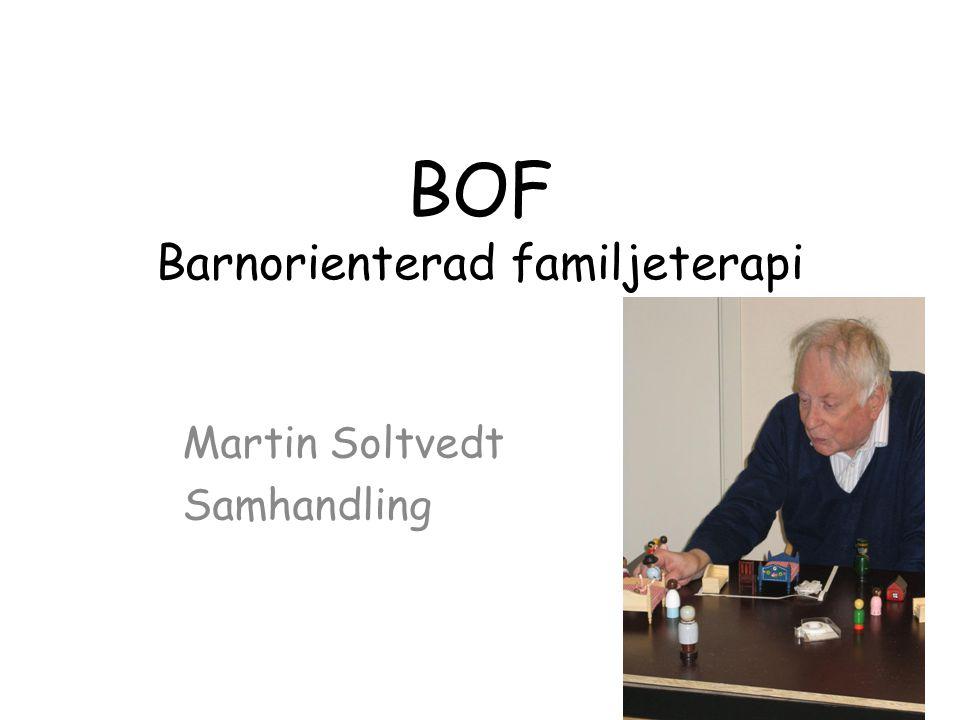 BOF Barnorienterad familjeterapi