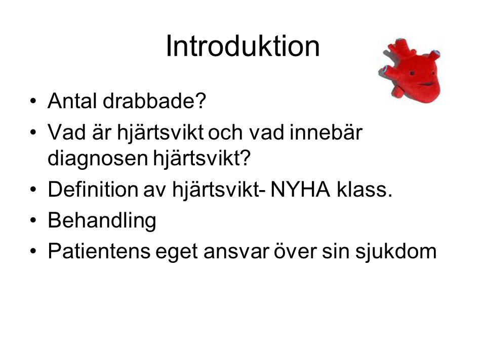 Introduktion Antal drabbade