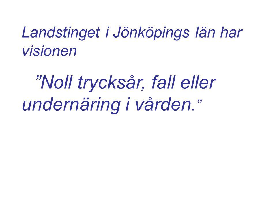 Landstinget i Jönköpings län har visionen
