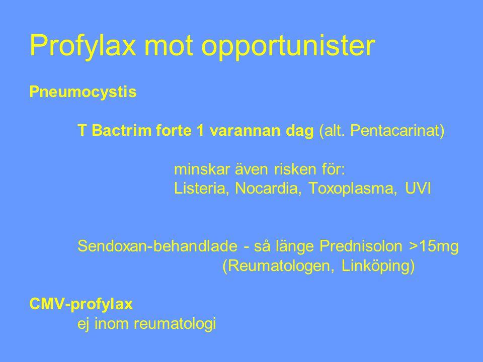 Profylax mot opportunister Pneumocystis