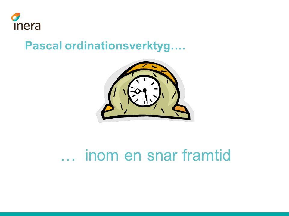 Pascal ordinationsverktyg….