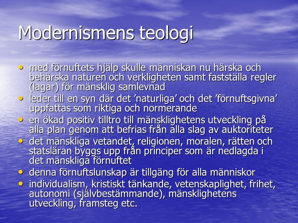 Modernismens teologi