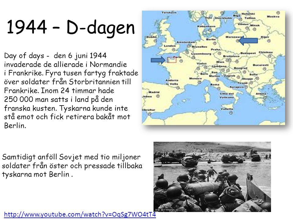 1944 – D-dagen Day of days - den 6 juni 1944
