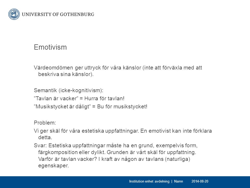 Emotivism