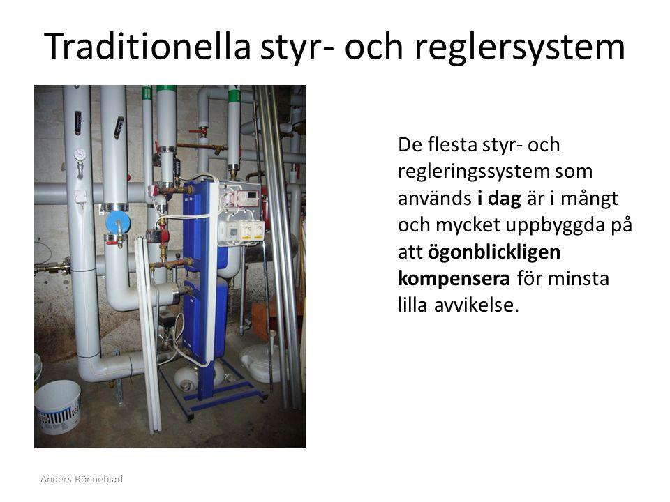 Traditionella styr- och reglersystem