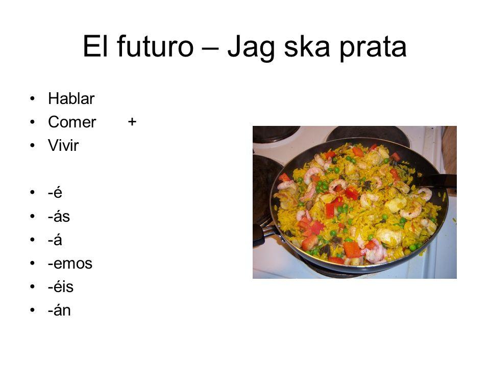 El futuro – Jag ska prata