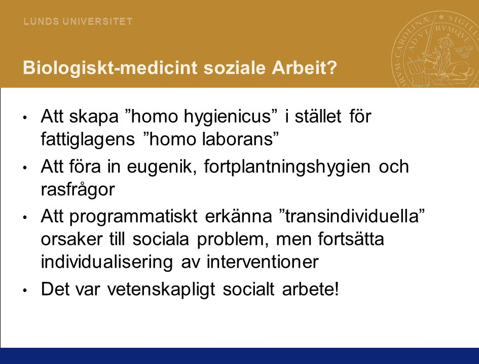Biologiskt-medicint soziale Arbeit