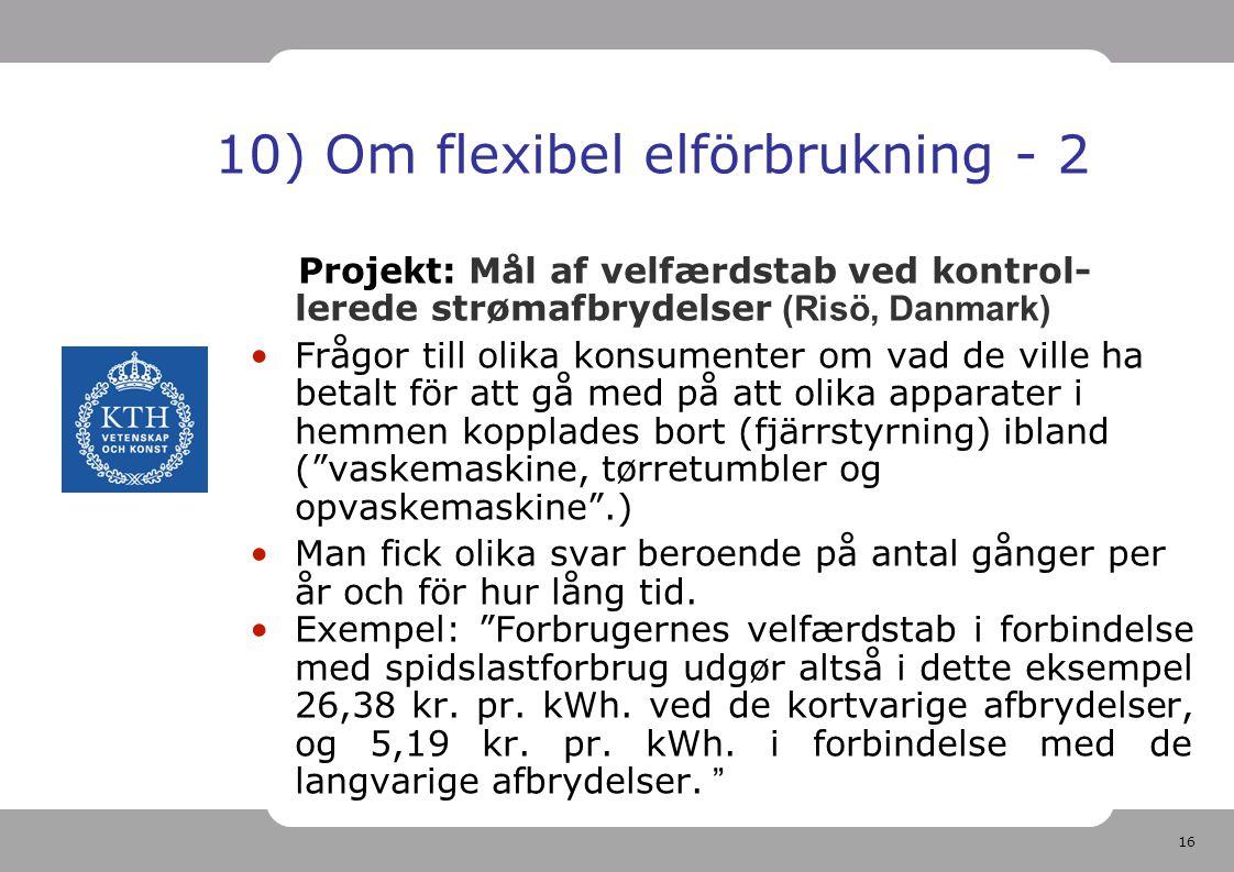10) Om flexibel elförbrukning - 2