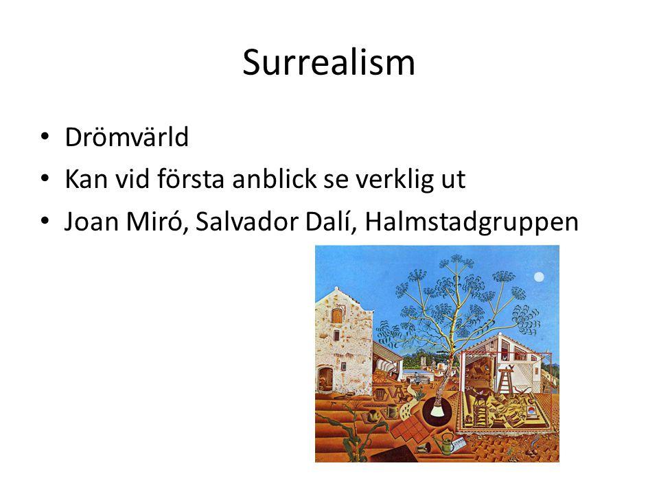 Surrealism Drömvärld Kan vid första anblick se verklig ut