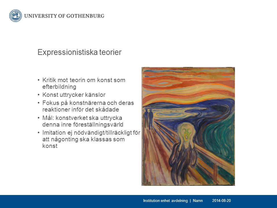 Expressionistiska teorier