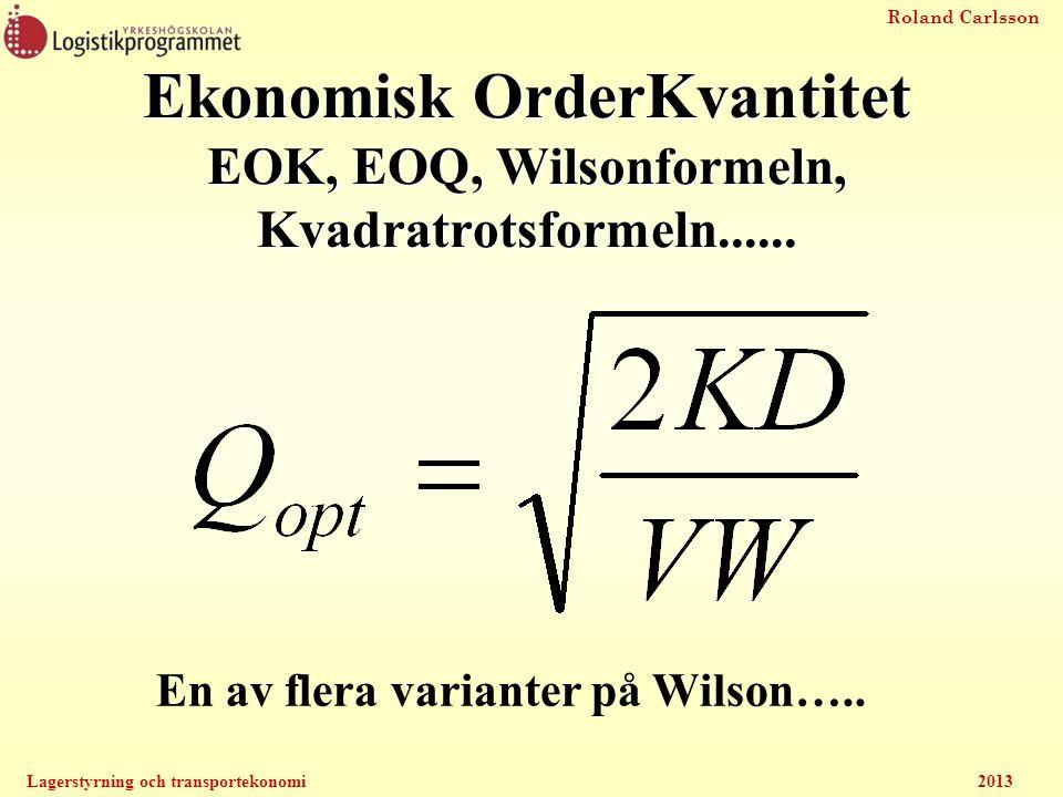En av flera varianter på Wilson…..