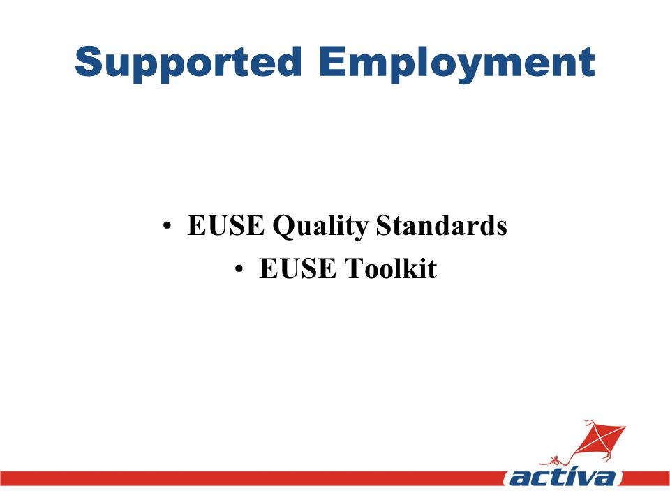 EUSE Quality Standards