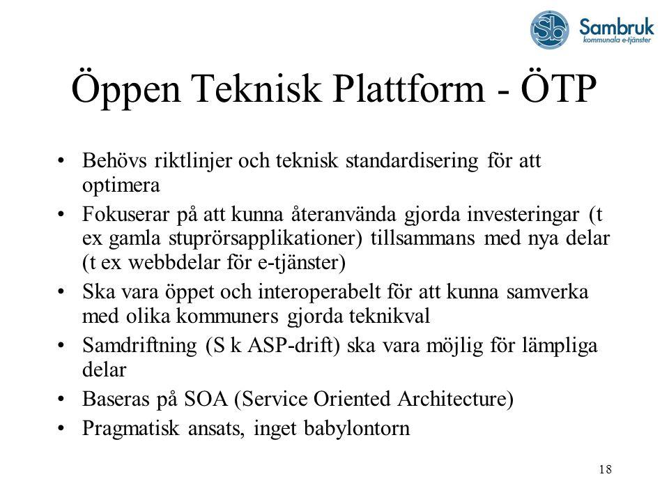 Öppen Teknisk Plattform - ÖTP