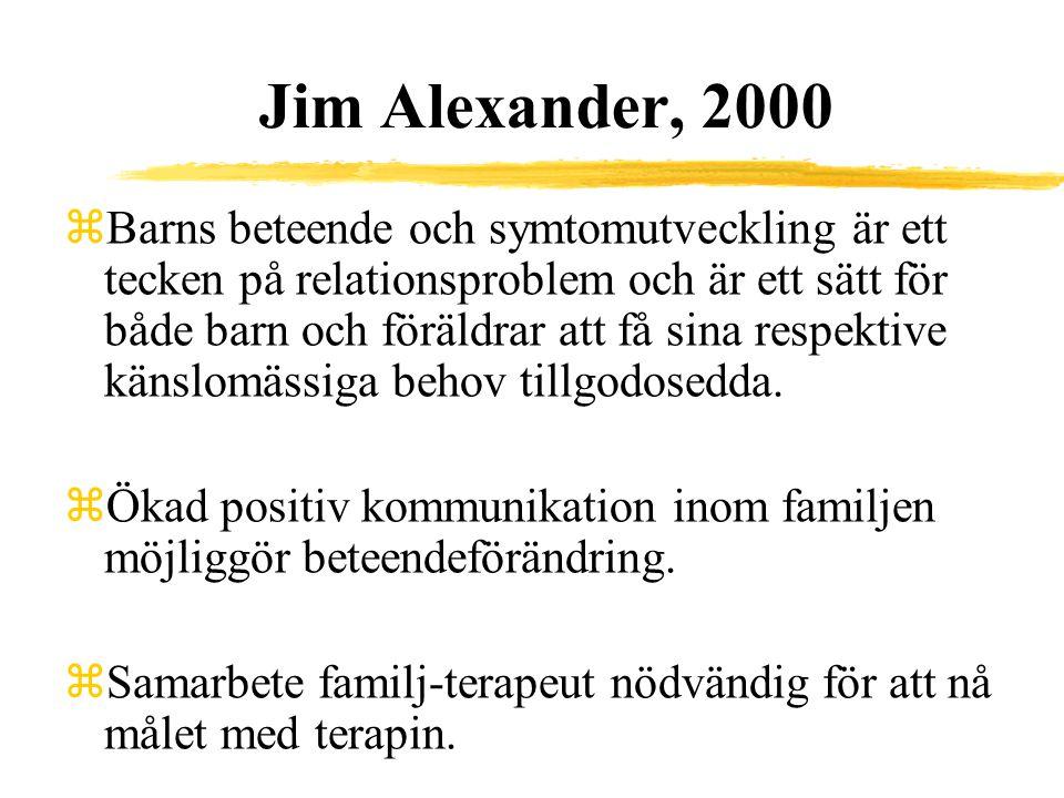 Jim Alexander, 2000
