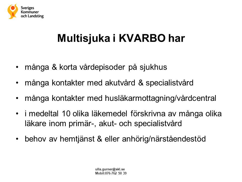Multisjuka i KVARBO har