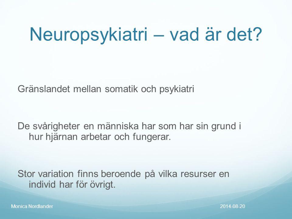 Neuropsykiatri – vad är det