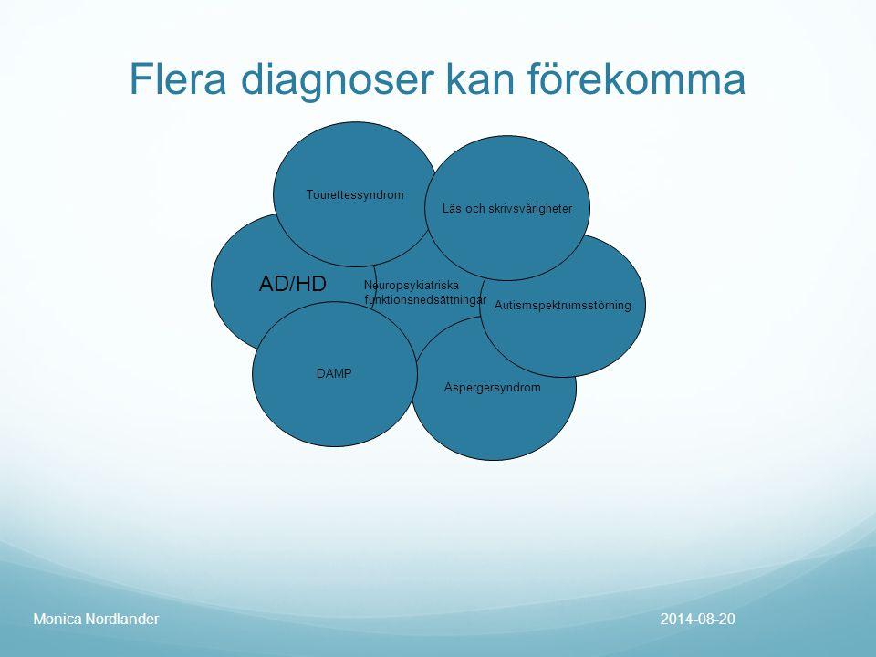 Flera diagnoser kan förekomma