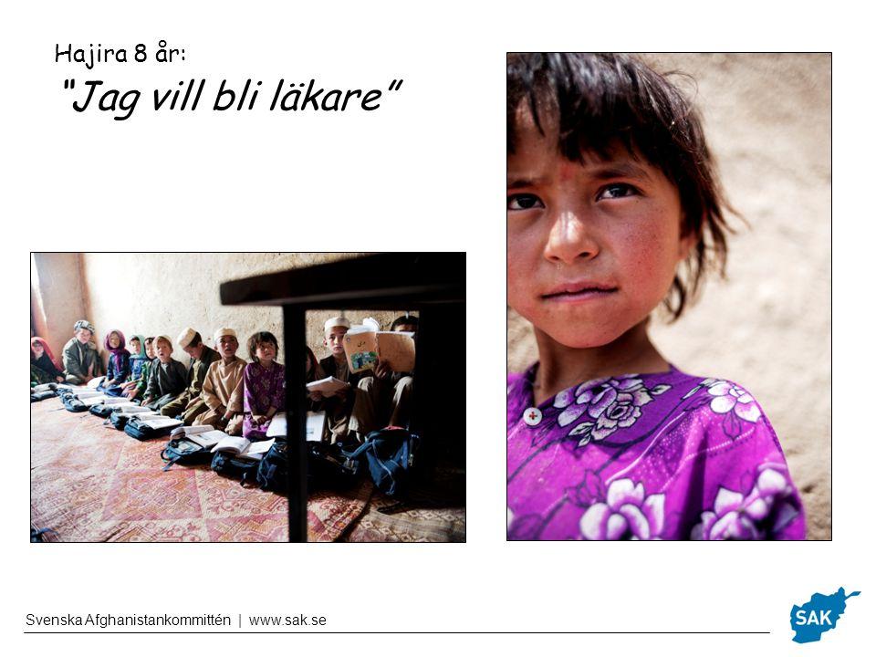 Hajira 8 år: Jag vill bli läkare