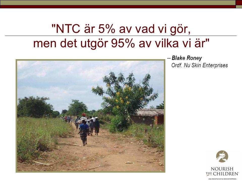 NTC är 5% av vad vi gör, men det utgör 95% av vilka vi är