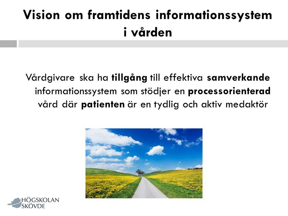 Vision om framtidens informationssystem i vården