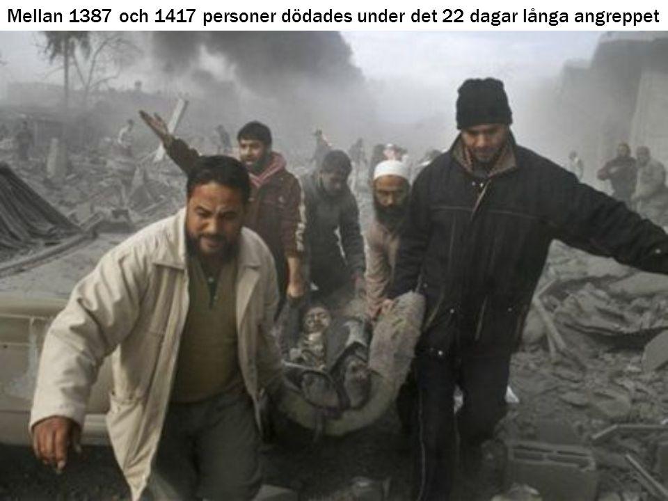 Mellan 1387 och 1417 personer dödades under det 22 dagar långa angreppet