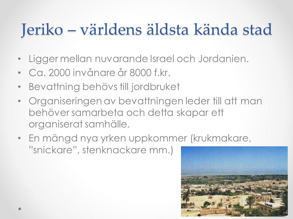 Jeriko – världens äldsta kända stad