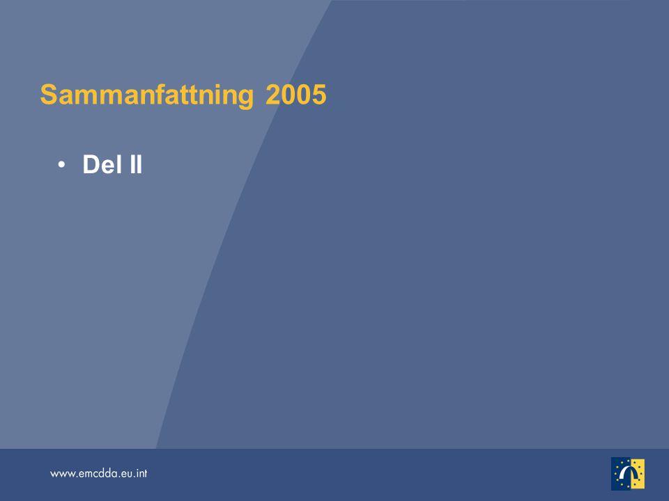 Sammanfattning 2005 Del II.
