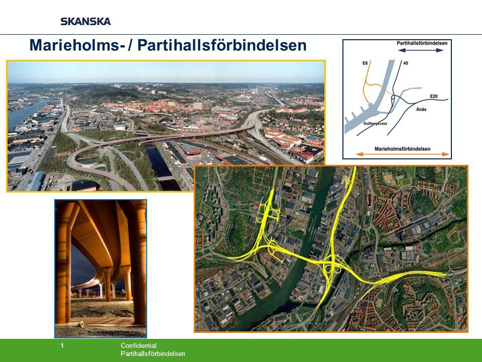 Marieholms- / Partihallsförbindelsen
