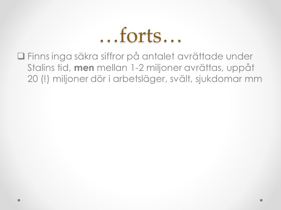 …forts…