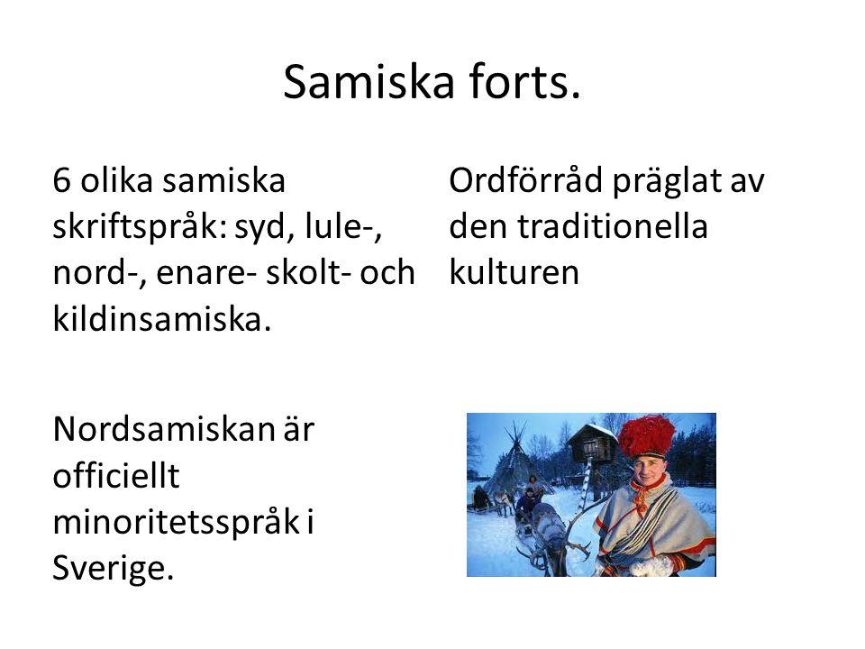 Samiska forts.