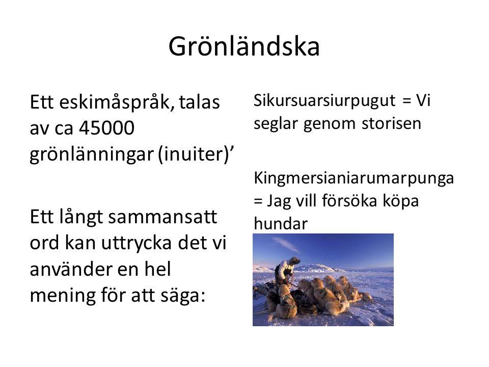 Grönländska