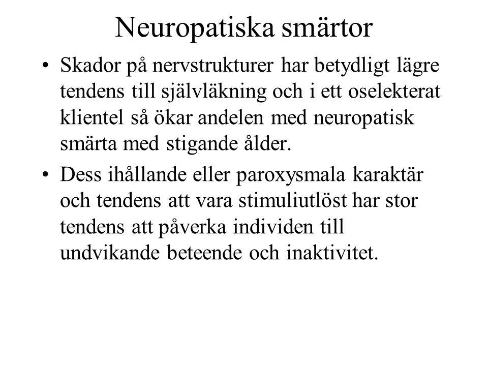 Neuropatiska smärtor