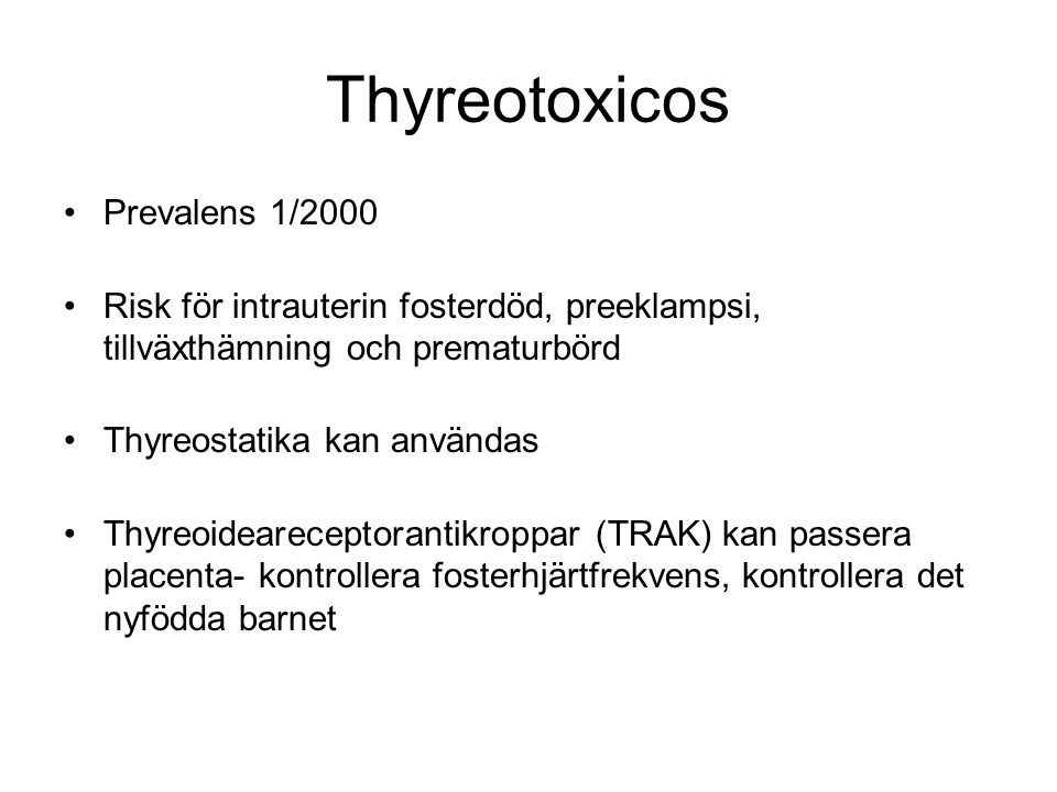 Thyreotoxicos Prevalens 1/2000