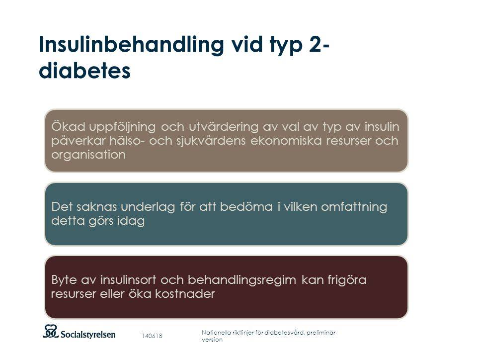 Insulinbehandling vid typ 2-diabetes