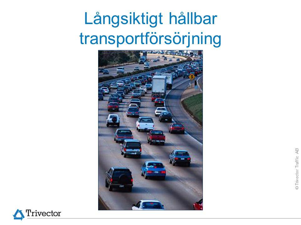 Långsiktigt hållbar transportförsörjning