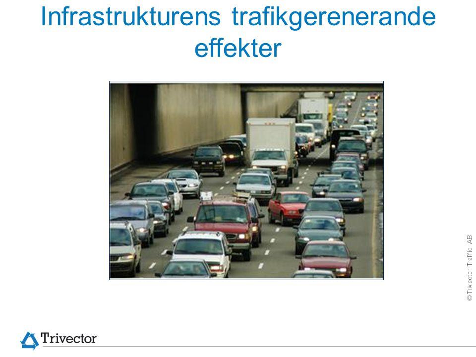 Infrastrukturens trafikgerenerande effekter