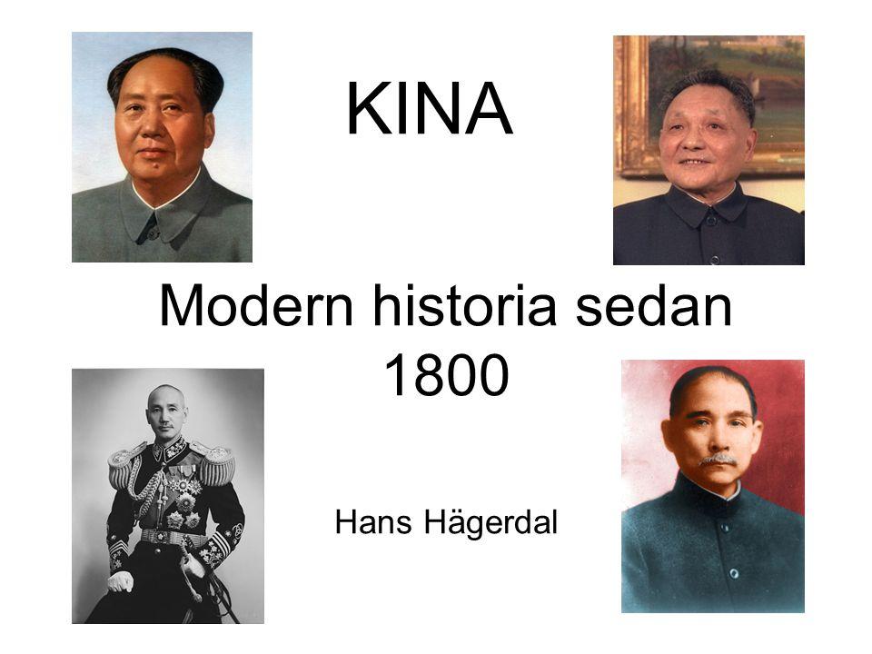 Modern historia sedan 1800 Hans Hägerdal