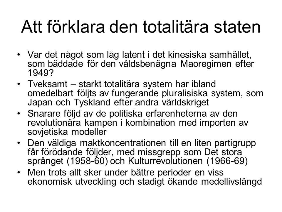 Att förklara den totalitära staten