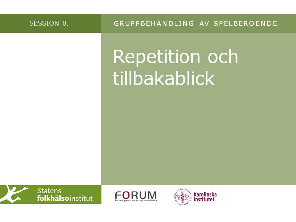 Repetition och tillbakablick