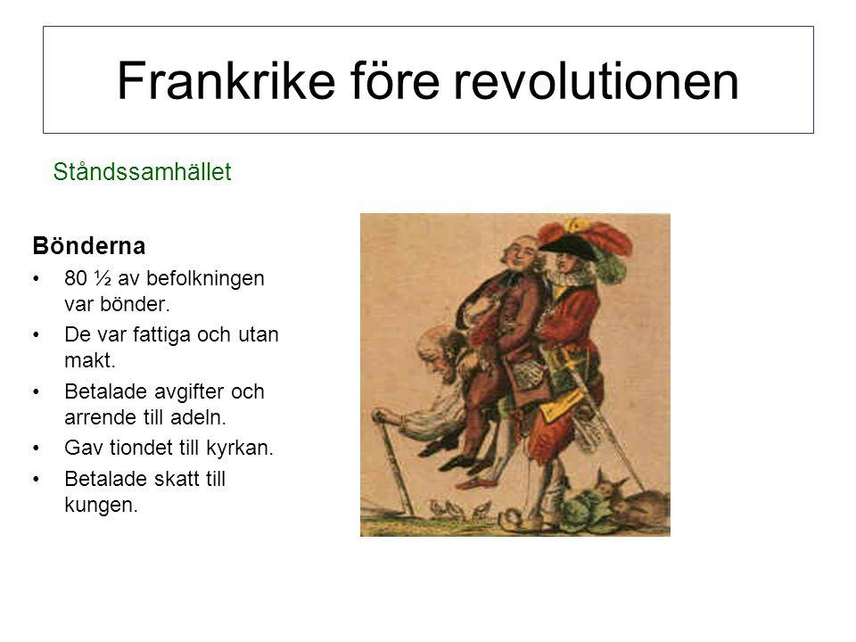 Frankrike före revolutionen