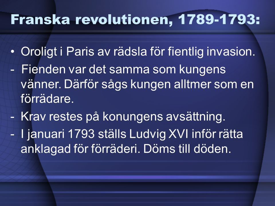 Franska revolutionen, 1789-1793: