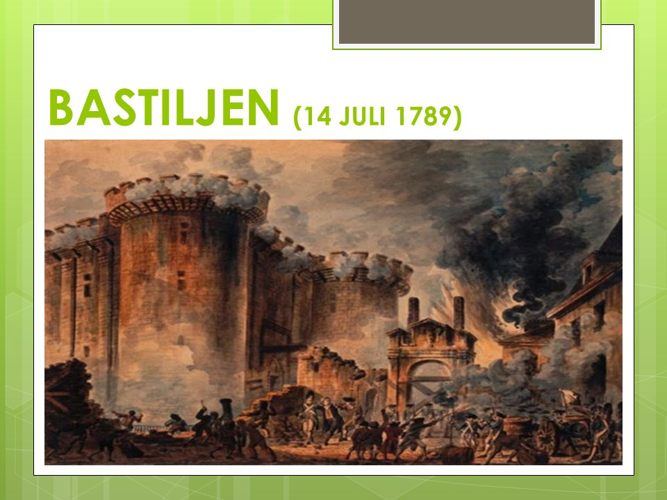 BASTILJEN (14 JULI 1789)