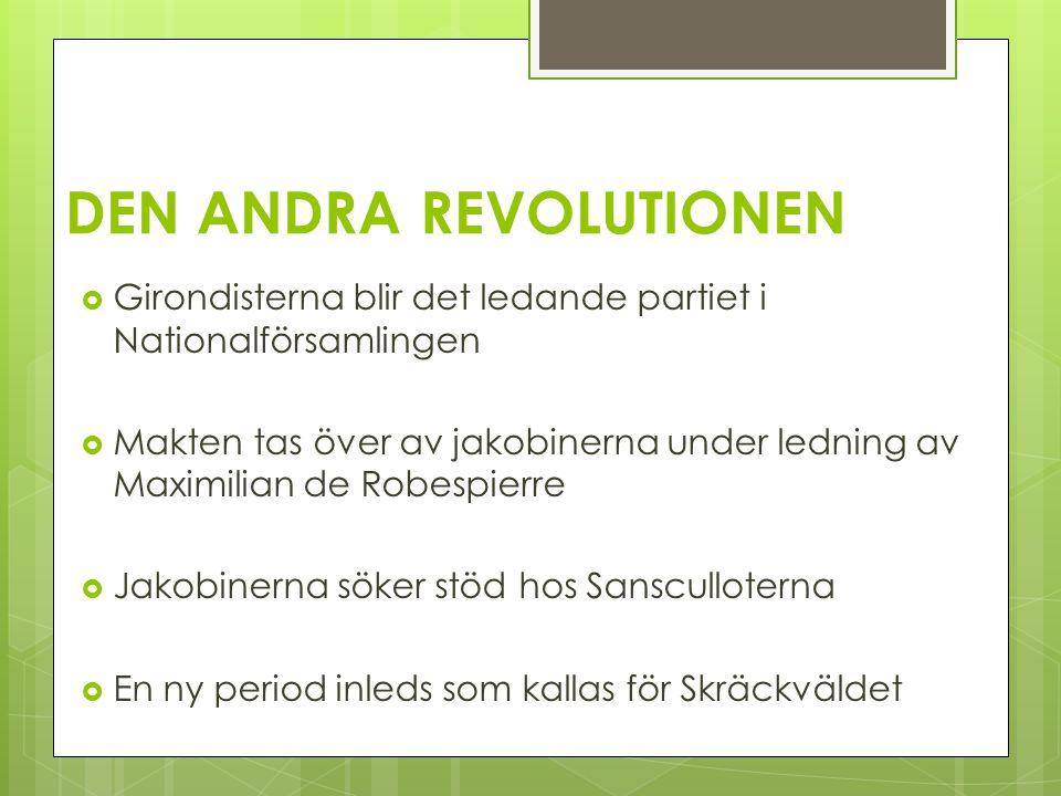 DEN ANDRA REVOLUTIONEN