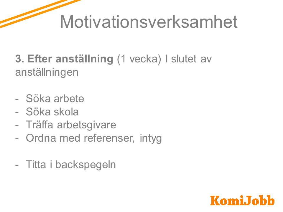 Motivationsverksamhet