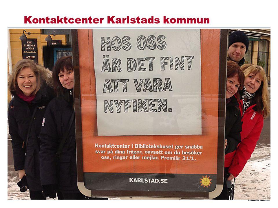 Kontaktcenter Karlstads kommun