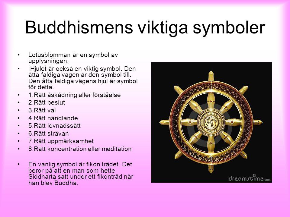 Buddhismens viktiga symboler
