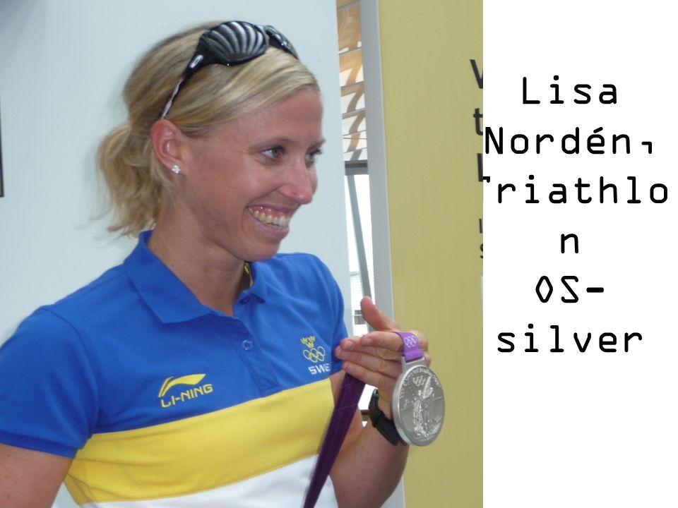 Lisa Nordén, Triathlon OS-silver