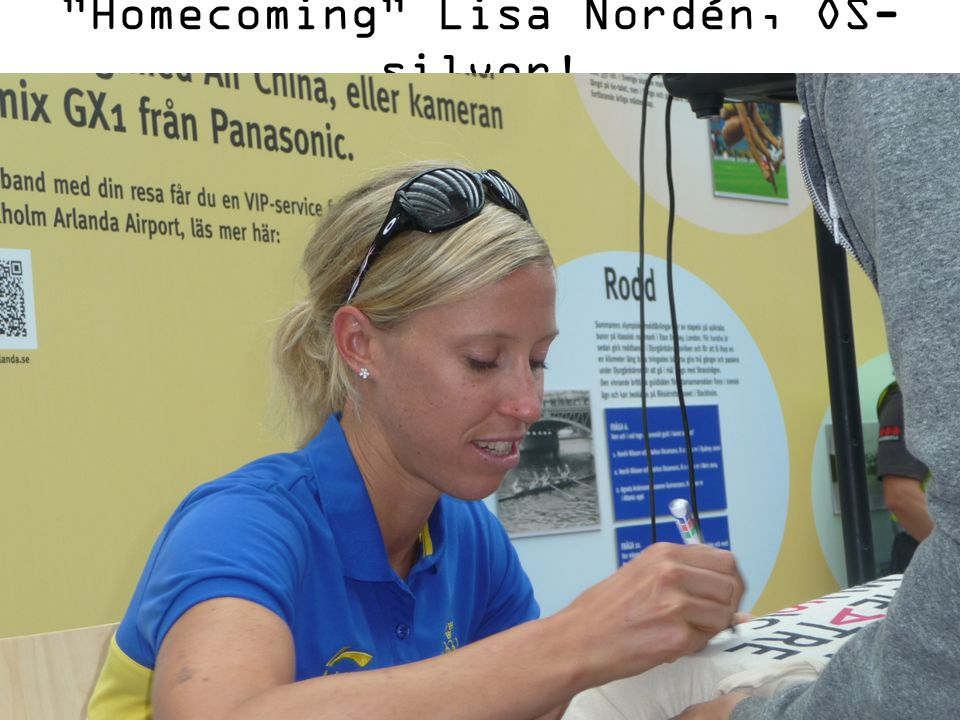 Homecoming Lisa Nordén, OS-silver!
