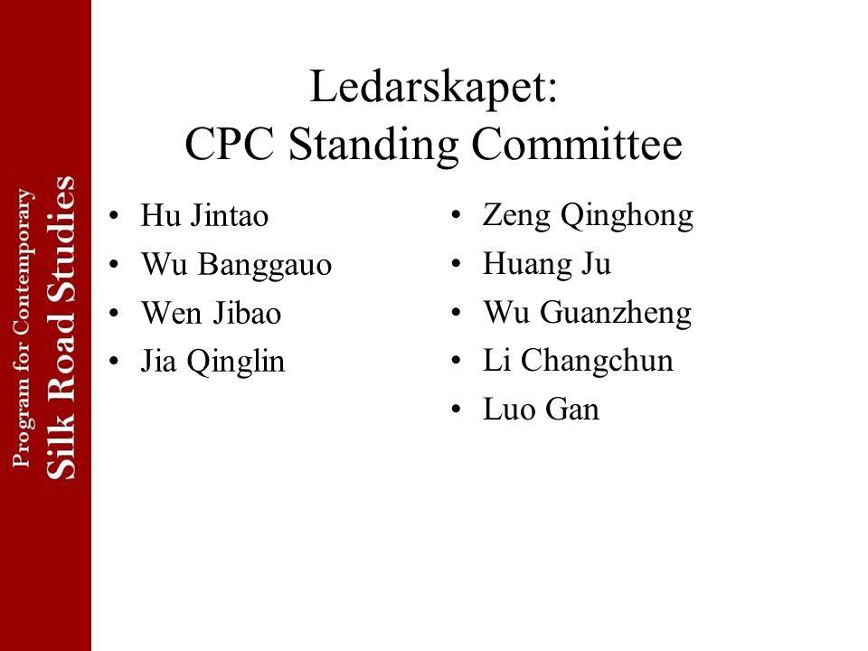 Ledarskapet: CPC Standing Committee
